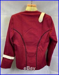 STAR TREK Movie II-VI Maroon Captains Uniform Jacket + Undershirt Replica (1004)