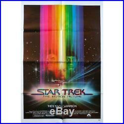STAR TREK Original Movie Poster 27x41 in. 1979 Robert Wise, William Shatn