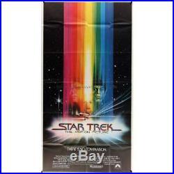 STAR TREK Original Movie Poster 41x81 in. 1979 Robert Wise, William Shatn