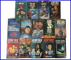 STAR TREK Original Series Pocket PAPERBACK Book Lot of 55 Sci-Fi Movie SPOCK