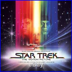STAR TREK THE MOTION PICTURE Jerry Goldsmith LA-LA LAND 3CD Score SOUNDTRACK oop