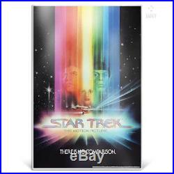 STAR TREK THE MOTION PICTURE, WRATH OF KHAN & SEARCH FOR SPOCK silver posters