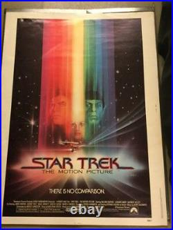 Shatter William Star Trek 1979 Original Rolled Movie Poster