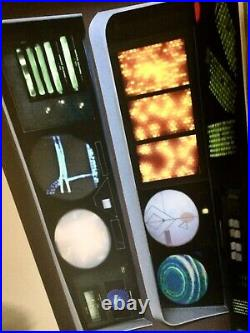StAr TrEk prop the motion picture spocks science station Translight poly print