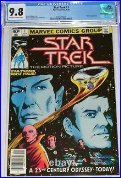Star Trek #1 CGC 9.8 from April 1980 Movie adaptation