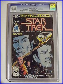 Star Trek #1 Marvel Comics 1980 CGC 9.8 Movie Adaption 1020828012