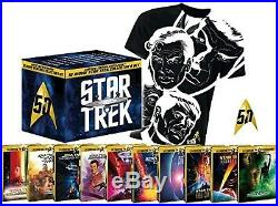 Star Trek 10 Movie Star Trek Collector's Set Blueray Steelbooks NEU OVP 50th Ann
