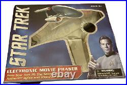 Star Trek 111 Electronic Movie Phaser Diamond Select Art Asylum Search For Spock