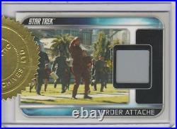 Star Trek 2009 Movie Card RC1 Secure Order Attache Relic 3-Case Incentive