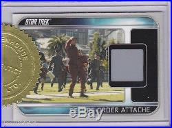 Star Trek 2009 Movie Rc1 Secure Order Attache Relic 3 Case Incentive 188/250