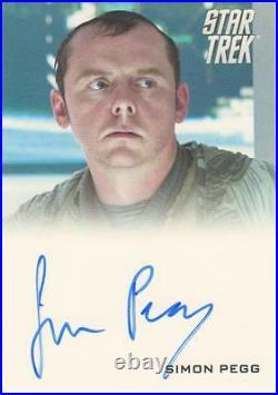 Star Trek 2009 Movie Simon Pegg Autograph