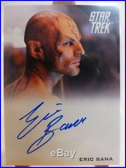 Star Trek 2009 movie trading card autograph Eric Bana as Nero