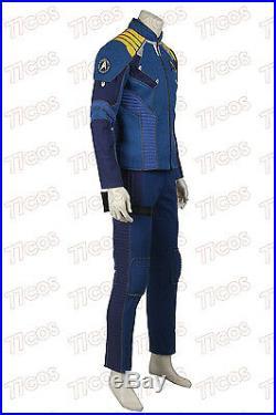 Star Trek 3 Beyond Captain Kirk Costume Commander Kirk Battle Cosplay Costume