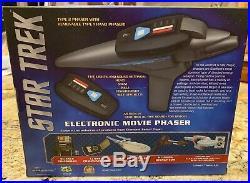 Star Trek 3 movie phaser by diamond Select Toys NIB