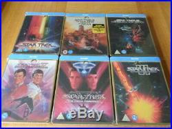 Star Trek 50th Anniversary Movie Steelbook collection New Sealed Blu-Ray