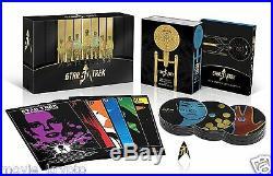 Star Trek 50th Anniversary TV & Movie Collection Blu-ray (Bilingual) NEW