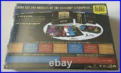 Star Trek 50th Anniversary TV & Movie Collection Blu-ray Box Set, 31-Disc NEW