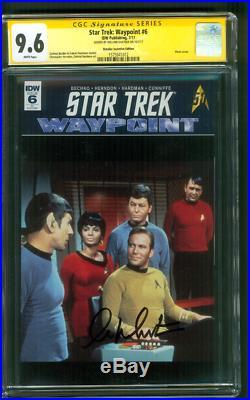 Star Trek 6 CGC SS 9.6 William Shatner Retailer Incentive Photo Variant 1 Movie