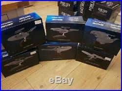 Star Trek × 6 Ship Special Issue USS Enterprise 2009 Movie Mint/Boxed Eaglemoss