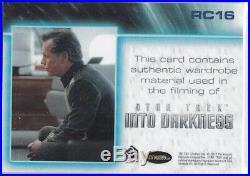 Star Trek Beyond Movie Rc16 Admiral Pike Costume Uniform Relic Insert (scarce)