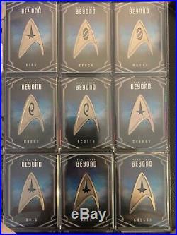 Star Trek Beyond Movie Uniform Badge Pin Card Set UB1 to UB10