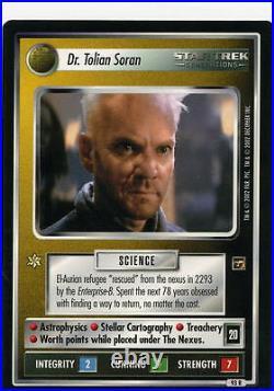 Star Trek CCG Motion Pictures InComplete Set Nr/Mint, 126 Cards. No UR or DA's