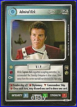 Star Trek CCG The Motion Pictures Complete 127 Card Set no UR or DA's