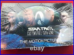 Star Trek CCG The Motion Pictures Sealed Booster Box