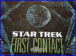 Star Trek First Contact Kilian Eng Movie Print Poster Mondo The Next Generation