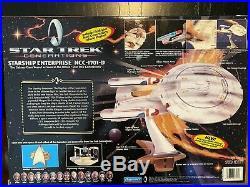 Star Trek Generations Movie Ships Klingon Bird of Prey Enterprise B & D Lot NIB