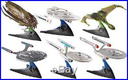 Star Trek Hot Wheels 20 Metall Schiffe zur Auswahl TOS, TNG kpl. Serie Raritäten