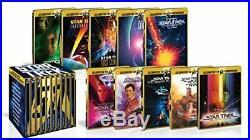 Star Trek I-X Movie 50th Anniversary BOX Blu-ray Steelbook withTracking# JAPAN F/S