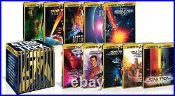 Star Trek I-X Movie Blu-ray Collectoer's Set 50th Anniversary Box Steel Book