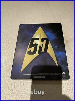Star Trek I X The Movie Blu-ray 50th Anniversary BOX Steelbook Japanese
