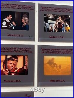 Star Trek II 35mm Photo Slides The Wrath of Khan Movie Promo Vtg 1982 Lot of 11
