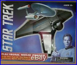 Star Trek III Electronic Movie PHASER Diamond Select Toys Art Asylum MIP