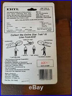 Star Trek III The Search for Spock Movie 1984 ERTL 4 Action Figure Set of 4