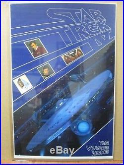 Star Trek IV the Voyage home movie 1986 Vintage Poster Inv#1609