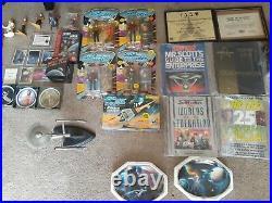 Star Trek LotToys, lunchbox, memerbalia, autographs, Movie props, cards etc n more