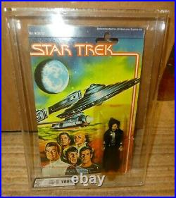 Star Trek Mego 4 figure 1979 Vintage UK graded Mergarite 80% Motion picture