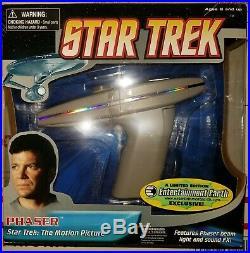 Star Trek Motion Picture Electronic Movie Phaser Diamond Select Toys Art Asylum