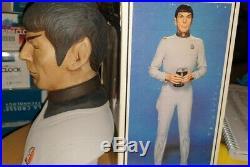 Star Trek Motion Picture Mr Spock Ceramic Bust Grenadier Decanter Paramount