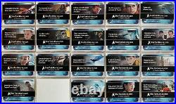 Star Trek Movie 2009 Convention Preview Promo Card Set PP1 PP20 (No PP17)