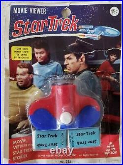 Star Trek Movie Viewer Kirk Spock Bones Uhuru Enterprise Original Sealed 1967
