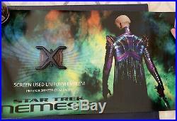 Star Trek Namesis Screen Used Movie Prop Worn Neck Emblem Shinzon Uniform