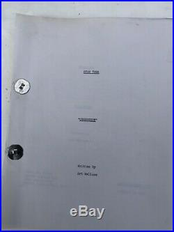 Star Trek Obsession Original 1967 Movie Script