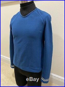 Star Trek Screen Used Original Blue Starfleet Science Officer Costume Movie Prop