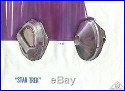 Star Trek TMP Movie Artwork ANTI-GRAV UNIT pre production Probert prop COA