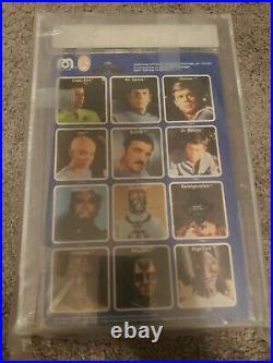 Star Trek The Motion Picture 1980 Arcturian Figure AFA Graded on Italian Card