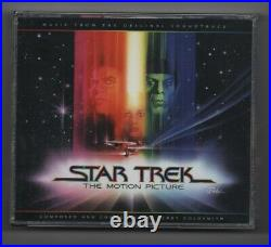 Star Trek The Motion Picture (Jerry Goldsmith) OOP 3 CD Soundtrack Box Set
